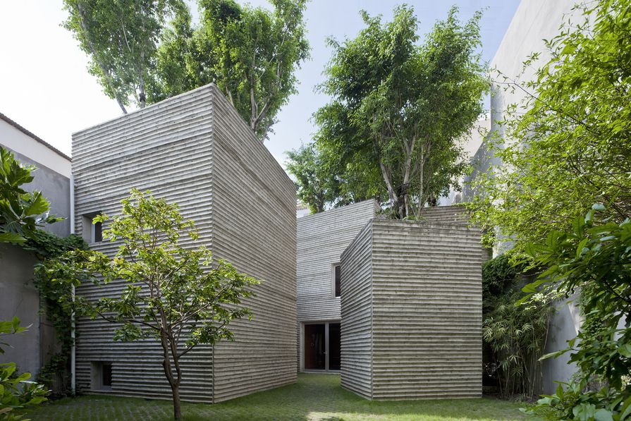 House for Trees in Ho Chi Minh City, Vietnam (2014).