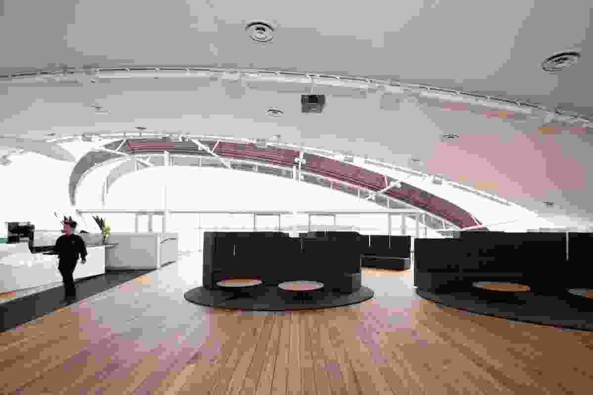 Venue/exhibition space.