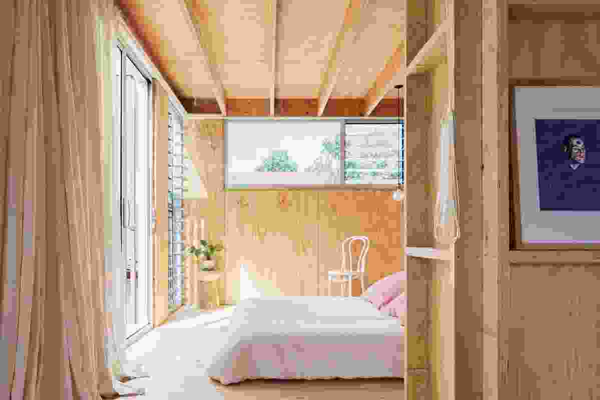 """Fluid and adaptable, the layout is resonant of the """"breeziness"""" of a holiday house. Artwork: Loribelle Spirovski."""