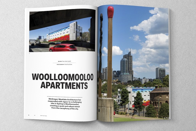 Woolloomooloo Apartments by McGregor Westlake Architecture.