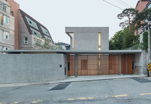 Open and Closed House by OBBA in Seoul.