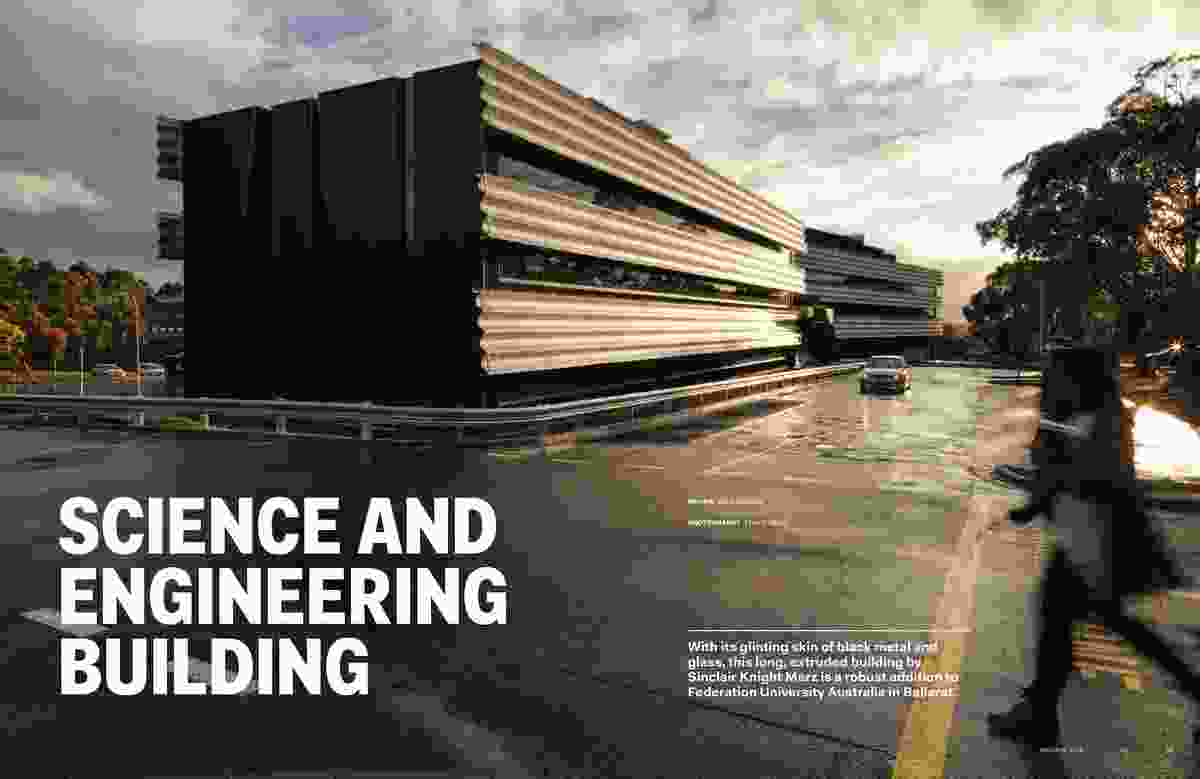 Science and Engineering Building by Sinclair Knight Merz.