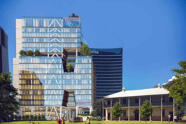 Engineering Innovation Hub by Tzannes and Blight Rayner.