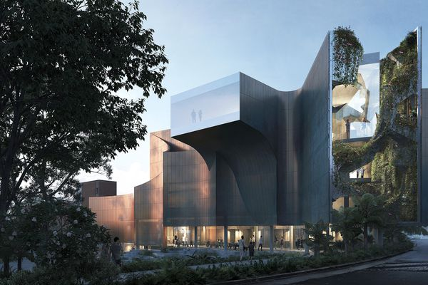 The proposed North West Museum and Art Gallery by Terroir.