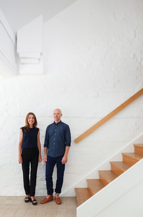 Nobbs Radford Architects directors Sean Radford and Alison Nobbs.