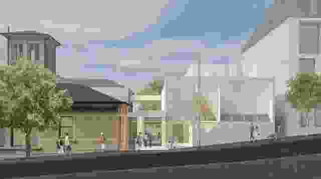 Pyrmont社区中心的扩建和翻新由Welsh和Major设计。