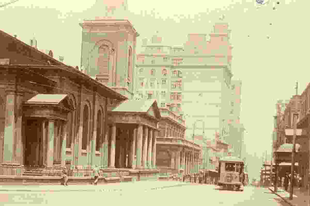King Street, Sydney,  from Public Sydney: Drawing the City.