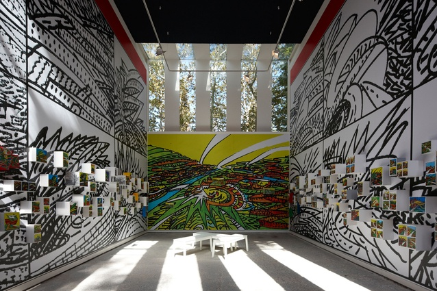 The Venezualan pavilion at the 2012 Venice Architecture Biennale.