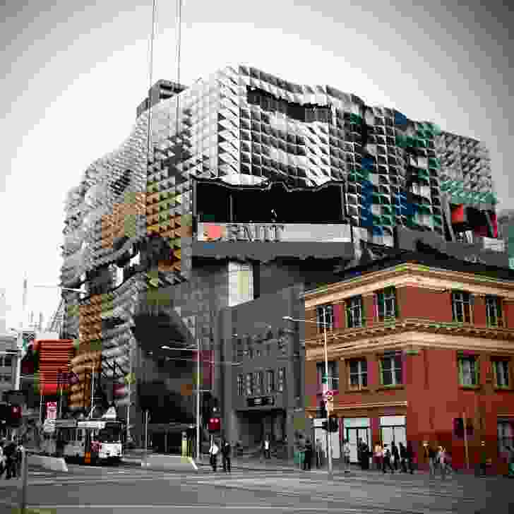 Swanston Academic Building designed by Lyons Architects.