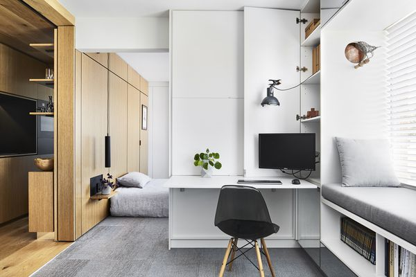Type Street Apartment by Tsai Design.