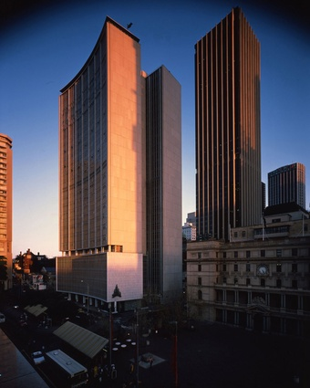 The AMP Building, Sydney Cove, by PTW Architects.