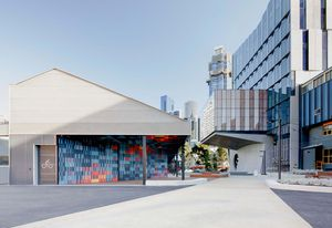 University of Melbourne, End of Trip Facilities by Searle x Waldron Architecture.