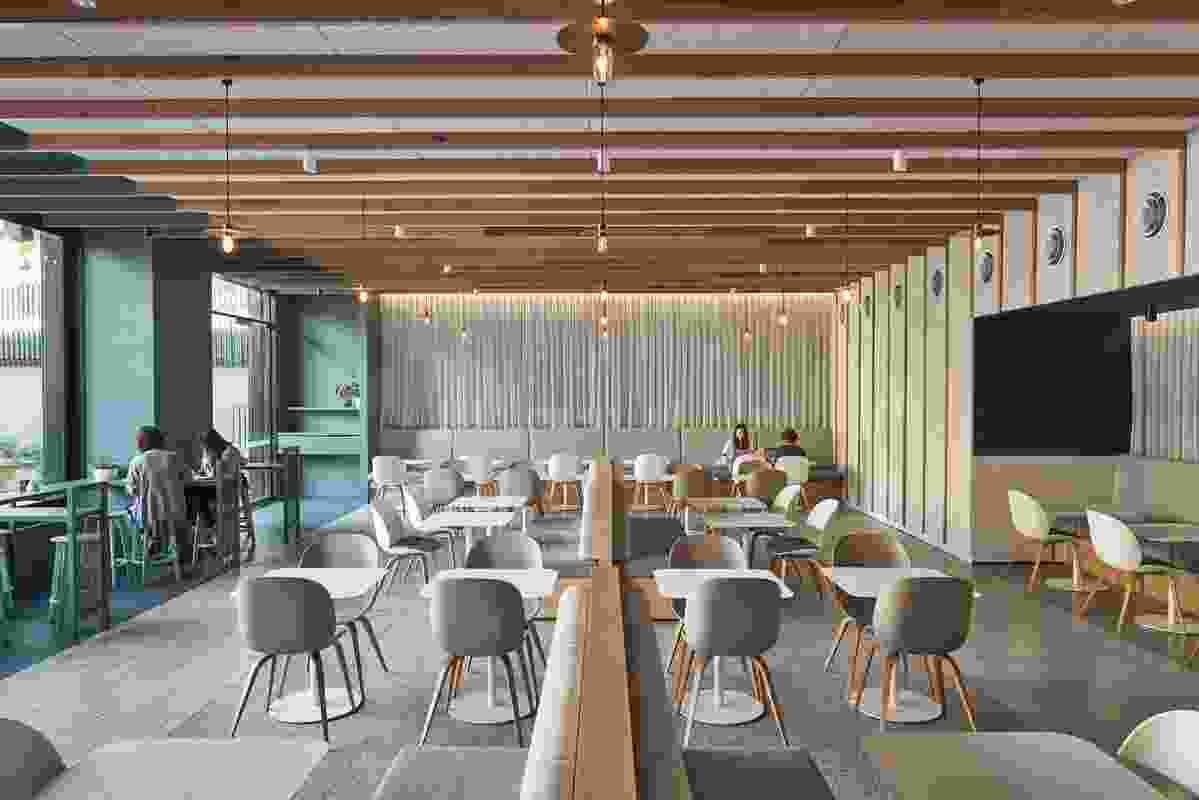 Monash University Sable Drop Cafe by Jackson Clements Burrows Architects (JCB)
