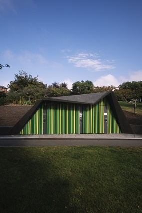 Princes Park Toilets by Terroir Architects.
