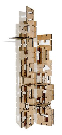 """Stacked"" by Iredale Pedersen Hook Architects."