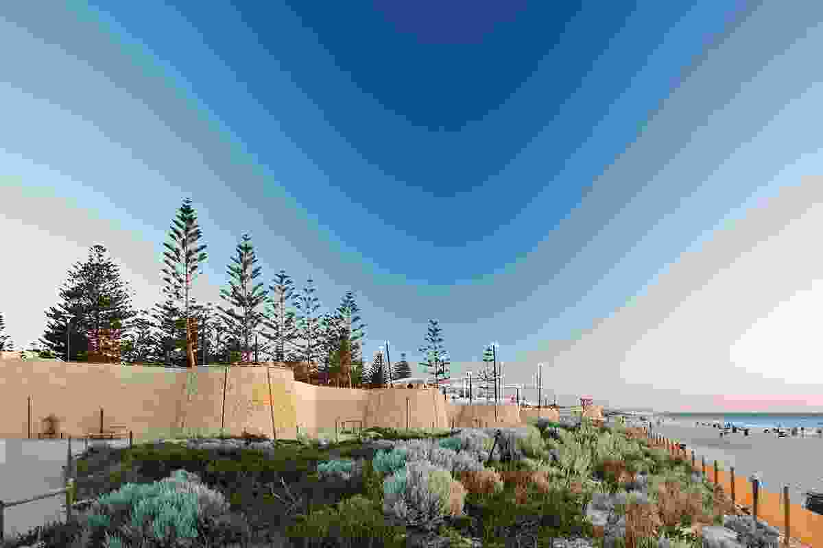 Scarborough Beach foreshore redevelopment, Perth.