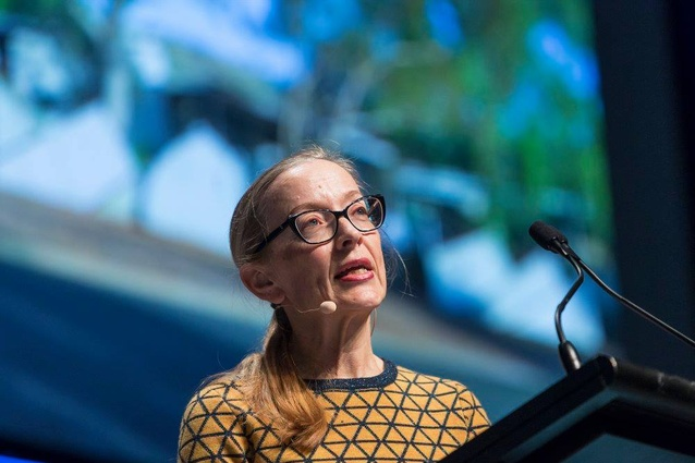 Sue Dugdale at the 2018 National Architecture Conference.