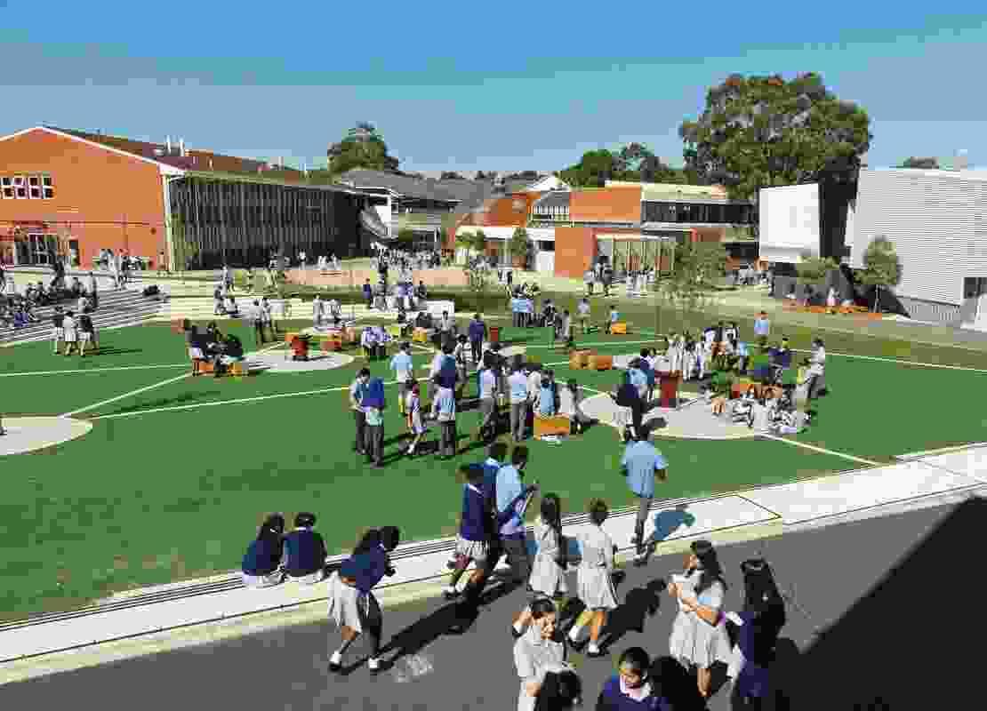 Dandenong education precinct by Outlines Landscape Architecture.