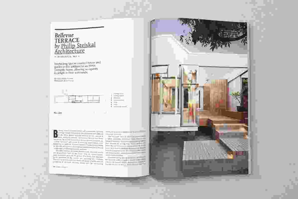 Bellevue Terrace by Philip Stejskal Architecture.