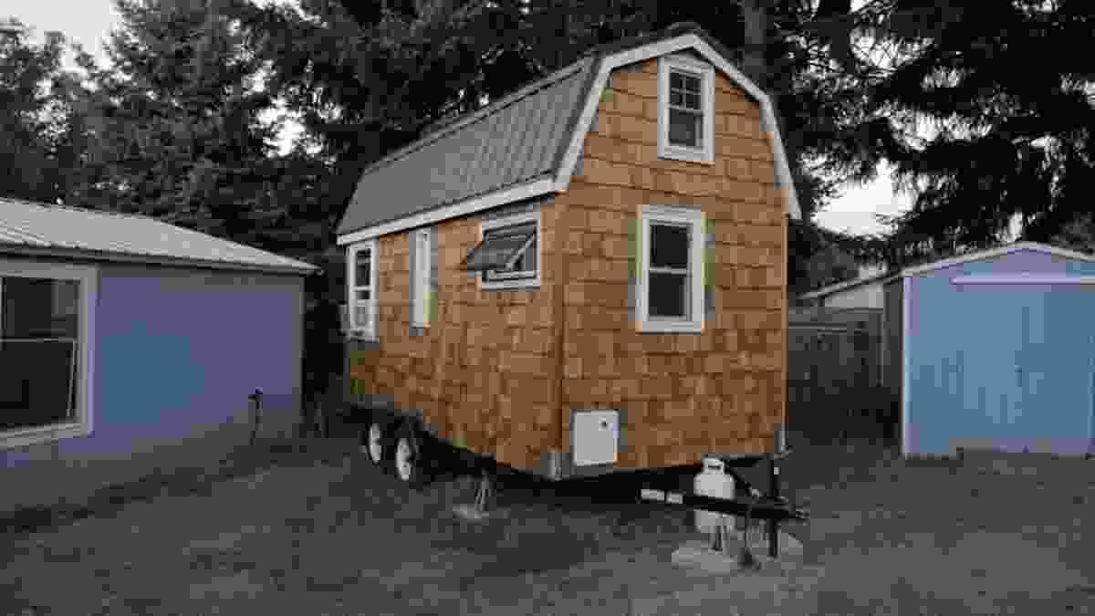 April's tiny house