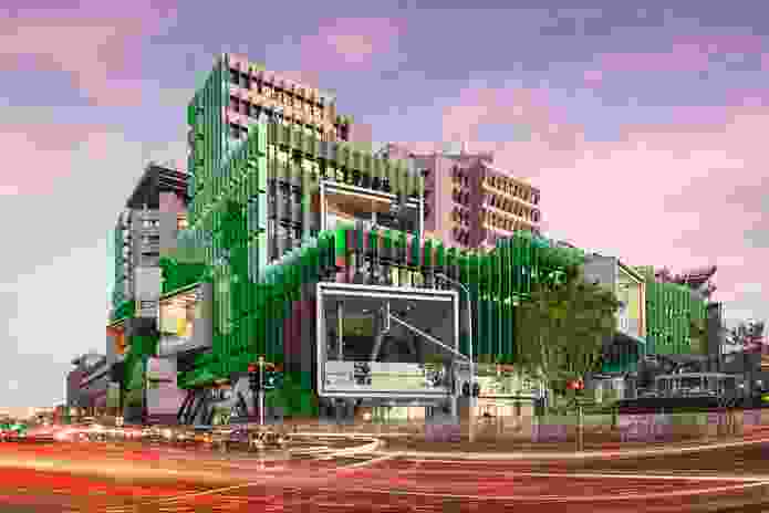 Lady Cilento Children's Hospital by Conrad Gargett Riddel and Lyons Architecture.