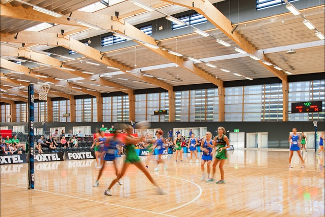 Netball Central by Scott Carver.