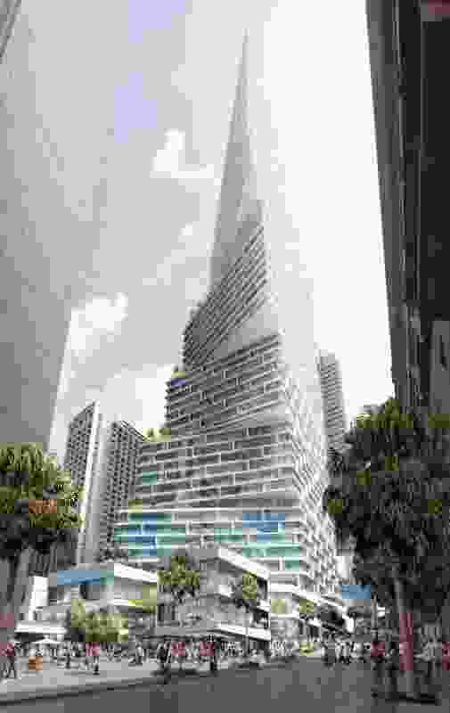 Quay Quarter tower by 3XN and BVN.