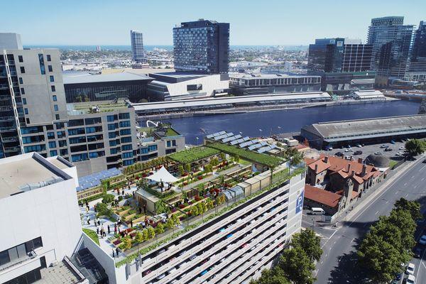 Melbourne Skyfarm by RD Architecture.