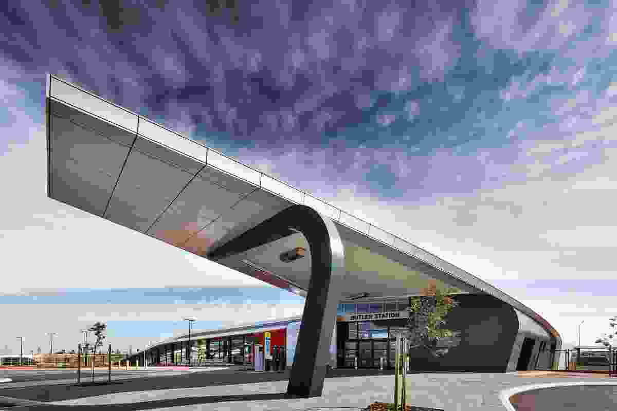 Butler Train Station by Coniglio Ainsworth Architects.