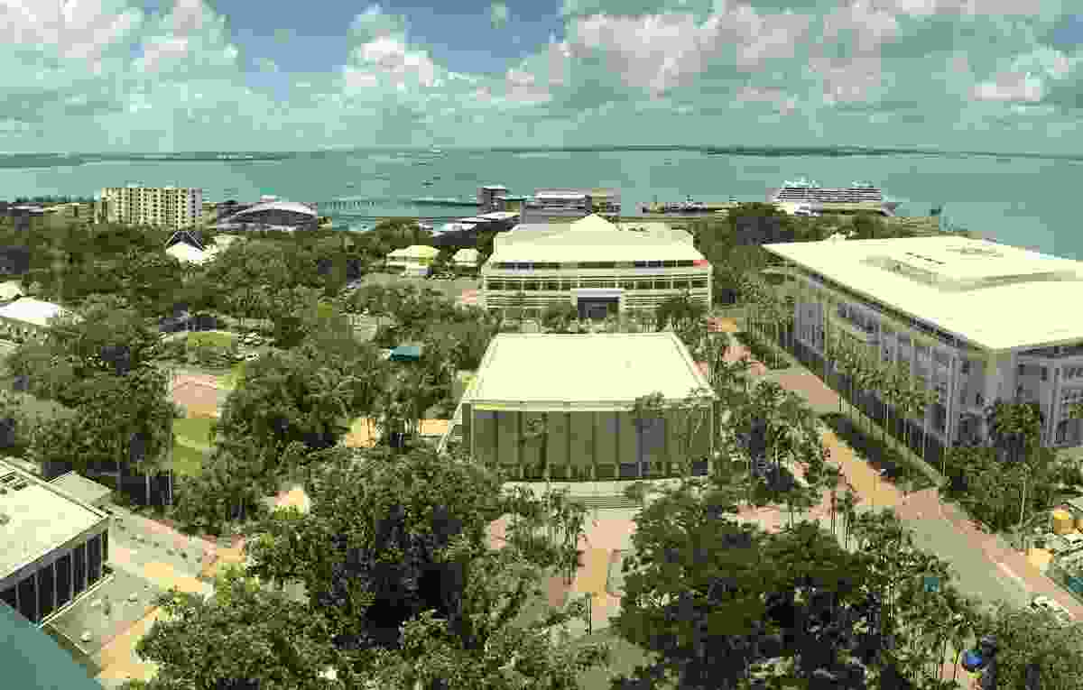 Darwin's Civil and State Square precinct.