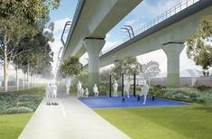 Final designs released for Melbourne 'sky rail' park