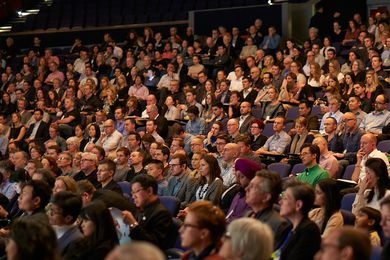 A full house at the Perth Convention Centre for the 2014 National Architecture Conference.