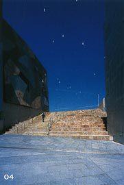 The stepped approach from Flinders Street. Image: Derek Swalwell.