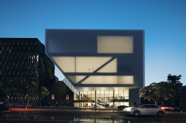The Geelong Performing Arts Centre's Ryrie Street Redevelopment by Hassell.