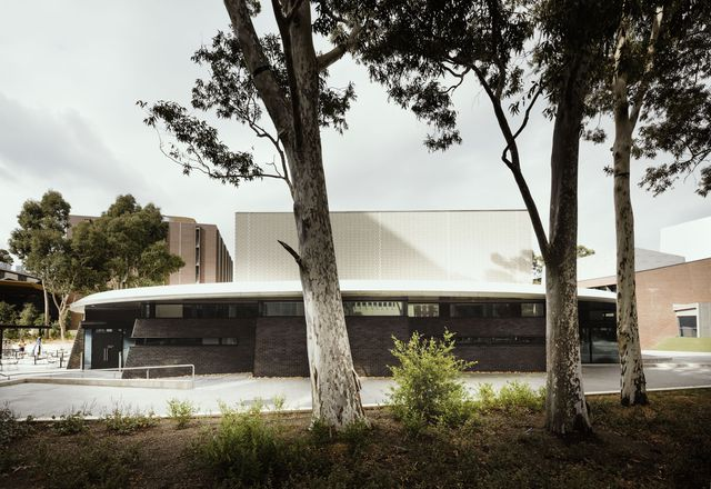 The Ian Potter Centre for Performing Arts, designed by Peter Elliott Architecture and Urban Design.