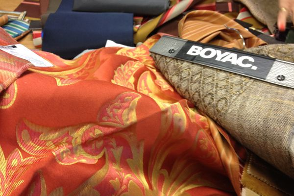 Boyac's 2012 fabric collection.