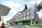 John Wardle Architects' 'gateway' building for Monash University