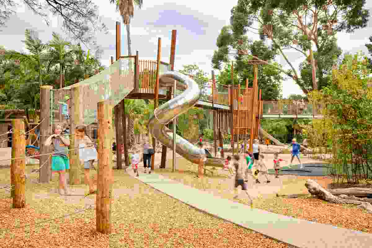 Zoos SA Nature's Play Ground by Phillips/Pilkington Architects and WAX Design.