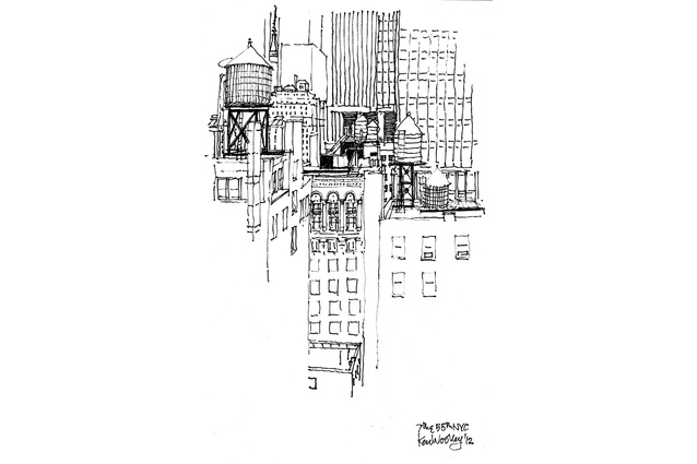 Ken Woolley <em>7th & 5th Avenue NYC, 2012.</em>