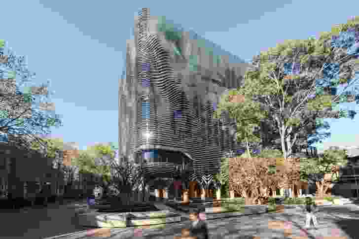 Arts West at The University of Melbourne was a joint project by ARM Architecture and Architectus (2016).