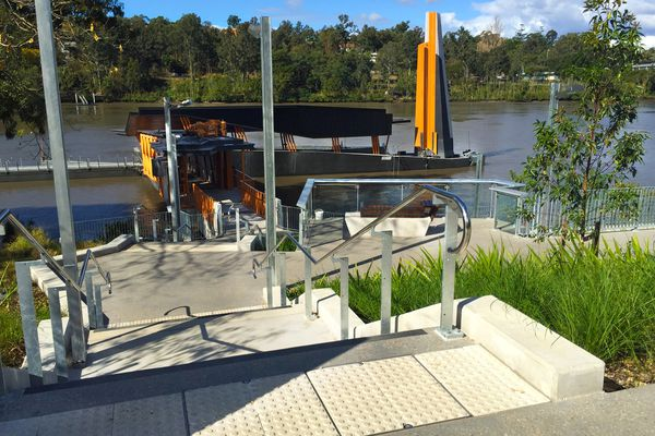 Brisbane Ferry Terminals Project by Lat27.