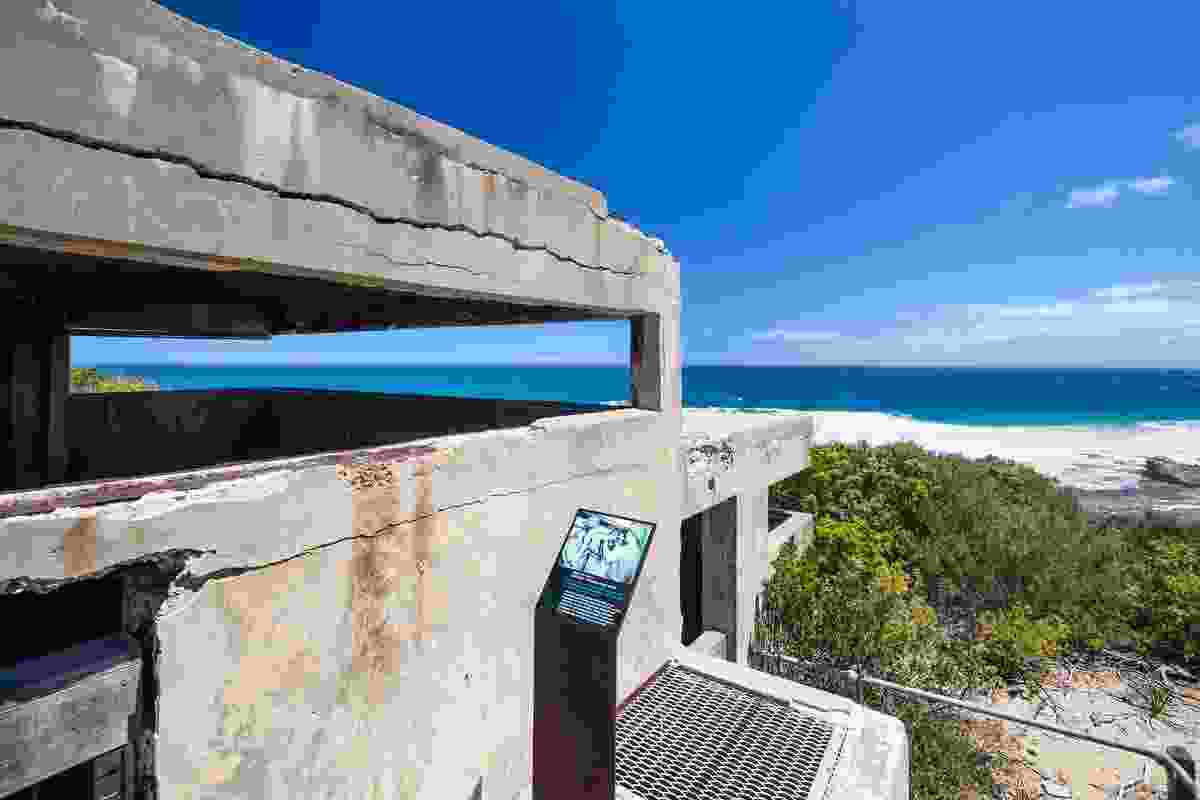 Battery Observation Post at Point Nepean.