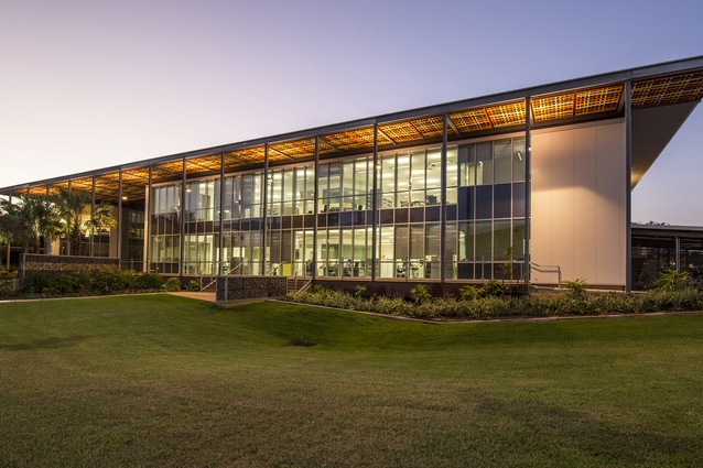 Menzies School of Health Research Charles Darwin University by Hames Sharley.