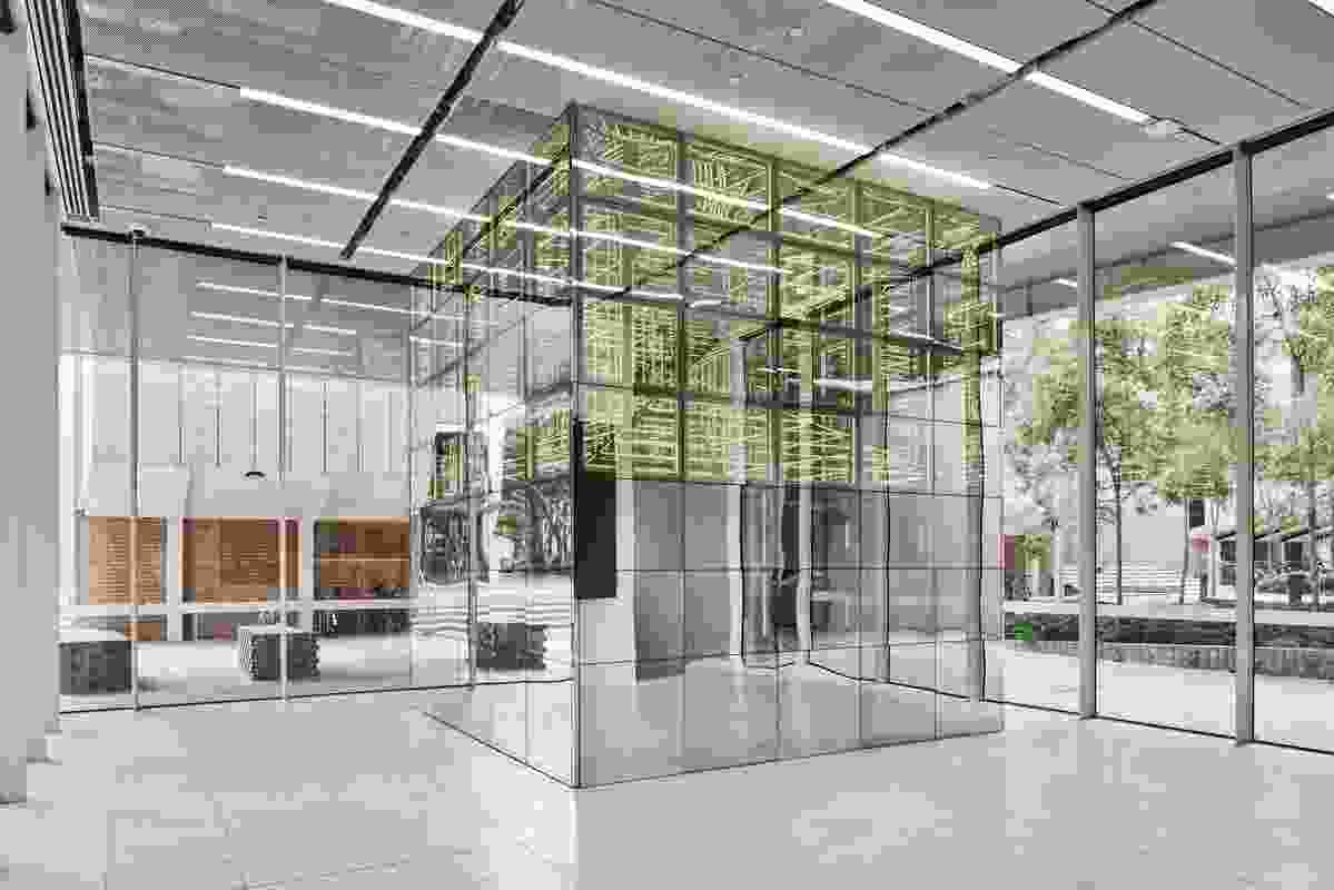 NExT Lab by Ample Architecture in collaboration with University Architect, Project Services, University of Melbourne.