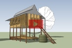 Students design/build project in Cambodia