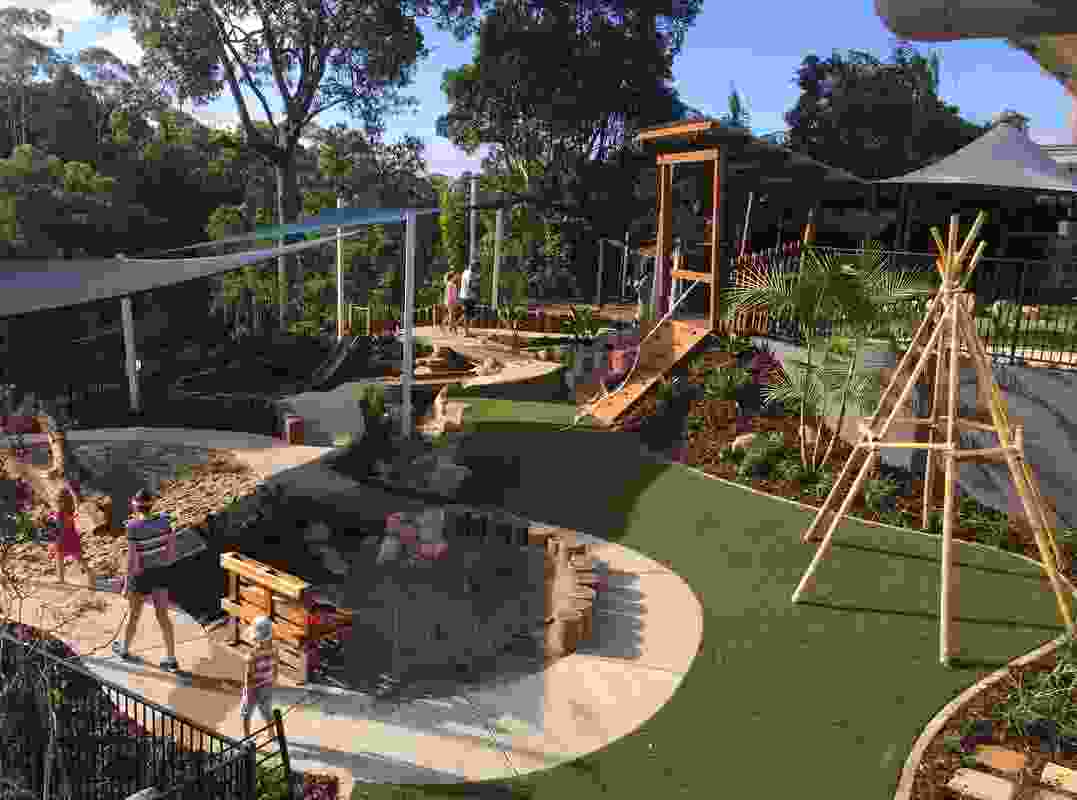 Immanuel Early Learning Centre Play Space by Greenedge Design Consultants.