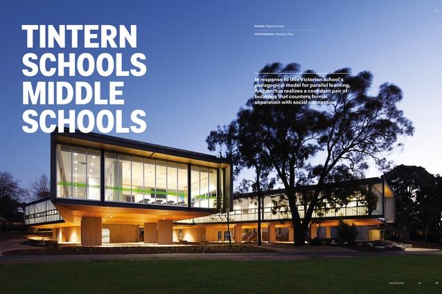 Tintern Schools Middle Schools by Architectus.