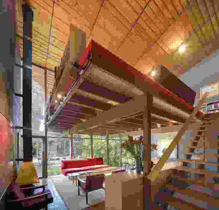 Robin Would Have Loved That: Man About The House. Pictured: Walsh Street House by Robin Boyd