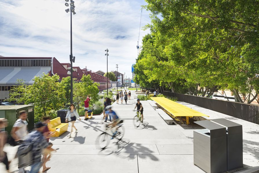 Sydney's celebrated Goods Line received both the Great Place Award and a Commendation in the From Plan to Place category.