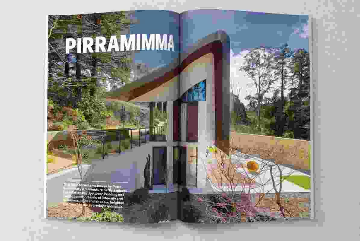 Pirramimma designed by Peter Stutchbury Architecture.